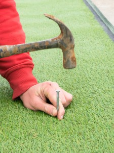 Next Generation Turf DIY grounding