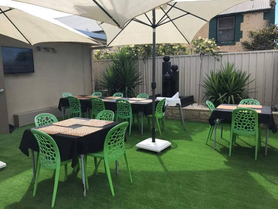 Next Generation artificial grass at Empire Cafe Two Wells