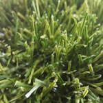 Bi-Colour fieldgreen and olive artificial grass sample