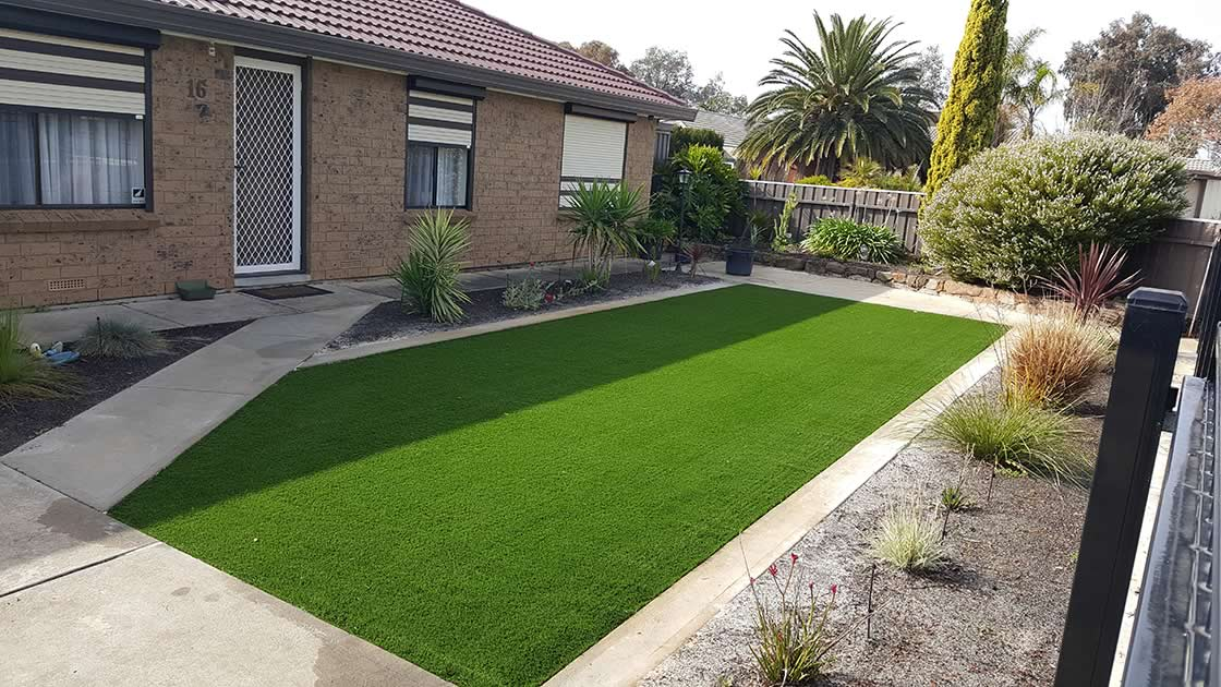 residential artificial grass 3 after