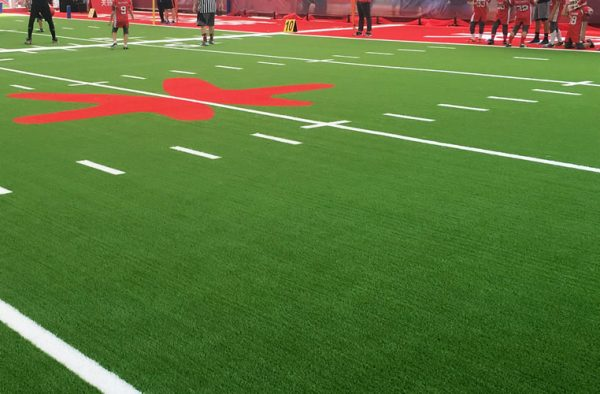 Multi-field Plus Artificial Grass instaled on football field