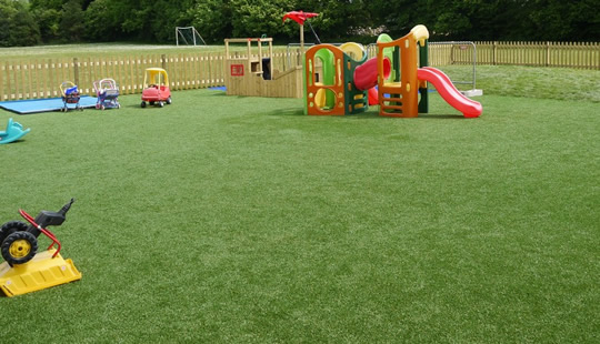 Increase safety with synthetic turf
