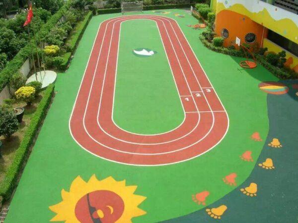Sports Pro artificial grass - running track
