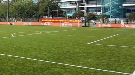 Artificial grass designed for sports